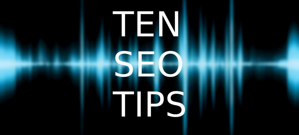 SEO Tips – Ten steps to online marketing success